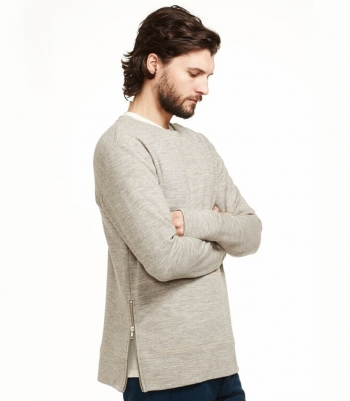 Wool Alister Sweatshirt Made in USA | Ramblers Way