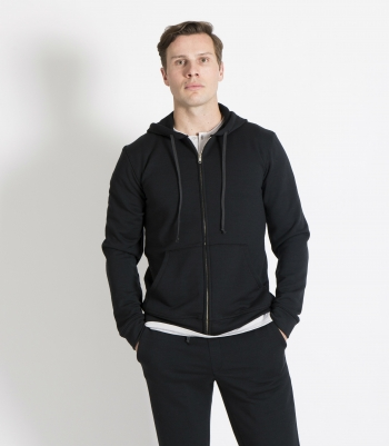 French Terry Wool Hoodie Made in USA | Ramblers Way