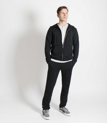 French Terry Wool Jogger Made in USA | Ramblers Way