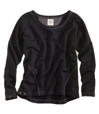 Wool French Terry Dolman Pullover - FINAL SALE Made in USA | Ramblers Way