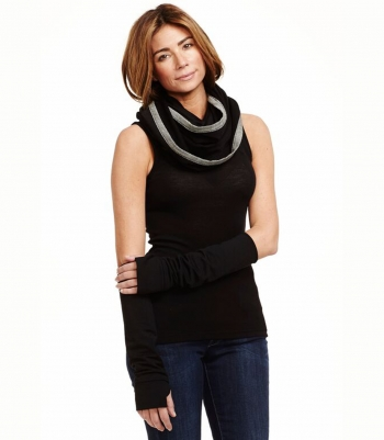 Wool Infinity Scarf - French Terry Made in USA | Ramblers Way