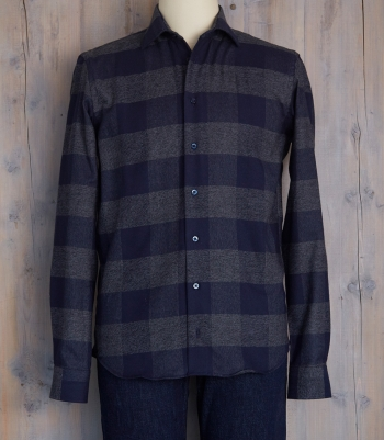 Men's Brushed Cotton Shirt Made in USA | Ramblers Way