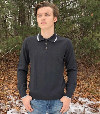 USA Polo Sweater Made in USA | Ramblers Way