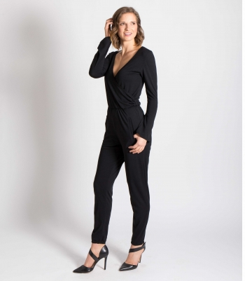 Wool Wrap Jumpsuit Made in USA   Ramblers Way
