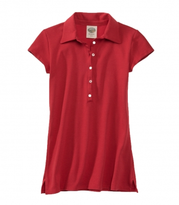 Cotton Polo Top - Short Sleeve - FINAL SALE Made in USA | Ramblers Way