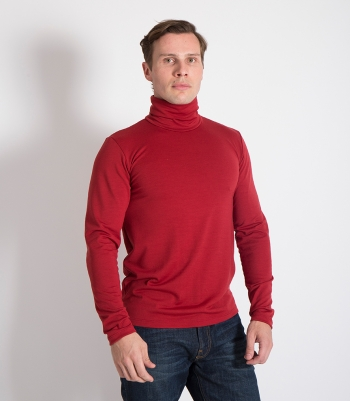 Wool Turtleneck Made in USA | Ramblers Way