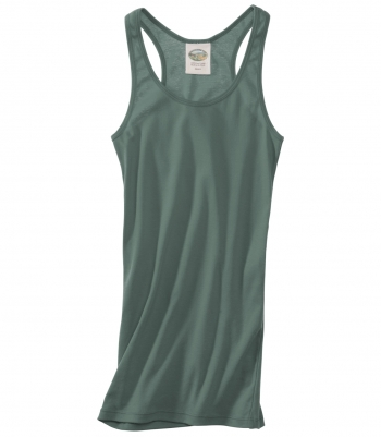 Women's Cotton Racer Back Tank - Sleeveless Made in USA | Ramblers Way