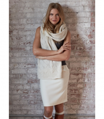 Wool Pencil Skirt - Final Sale Made in USA | RAMBLERS WAY