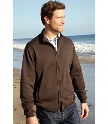 Wool 2 Way Full Zip Cardigan Sweater - FINAL SALE Made in USA | Ramblers Way