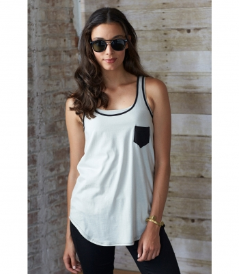 Women's Cotton Loose Tank Made in USA | Ramblers Way