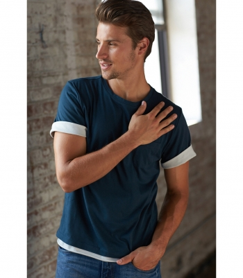Cotton Martin Double Layer Tee - Final Sale Made in USA | RAMBLERS WAY