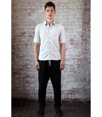 Cotton Jefferson Short Sleeve Made in USA | Ramblers Way
