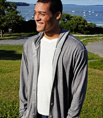 Button Down Hoodie Made in USA | Ramblers Way