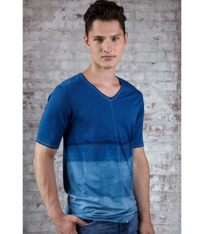 Wool Old Town Tee - Short Sleeve 5.5 oz. Made in USA | Ramblers Way