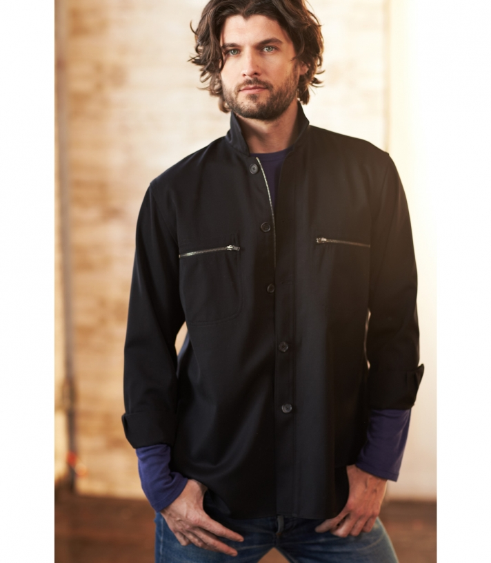Wool Acadia Shirt - FINAL SALE Made in USA | Ramblers Way