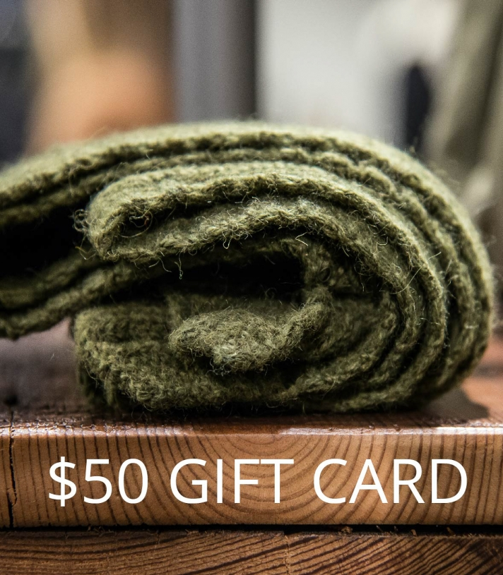 $50 GIFT CARD Made in USA | Ramblers Way