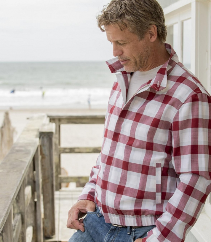 The Golfer - Men's Woven Wool Jacket Made in USA | Ramblers Way