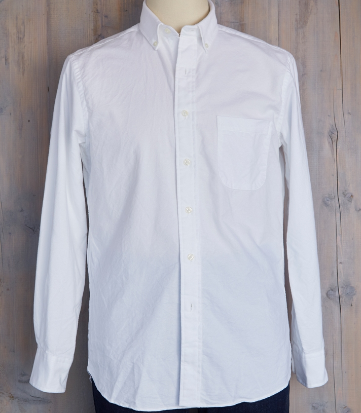 Men's Cotton James Button Down Shirt Made in USA | Ramblers Way