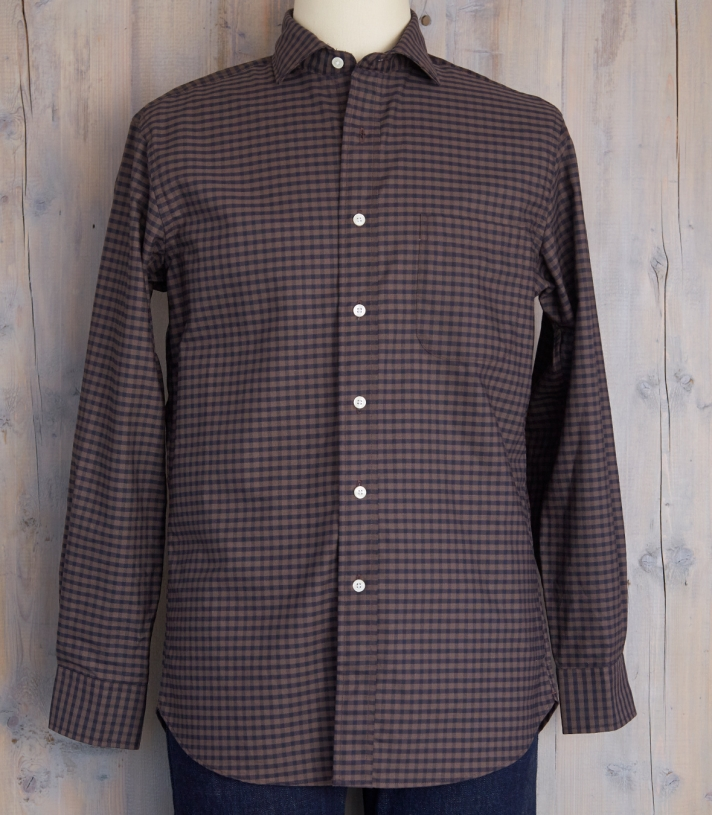 Cotton Lowell Fitted Shirt Made in USA | Ramblers Way