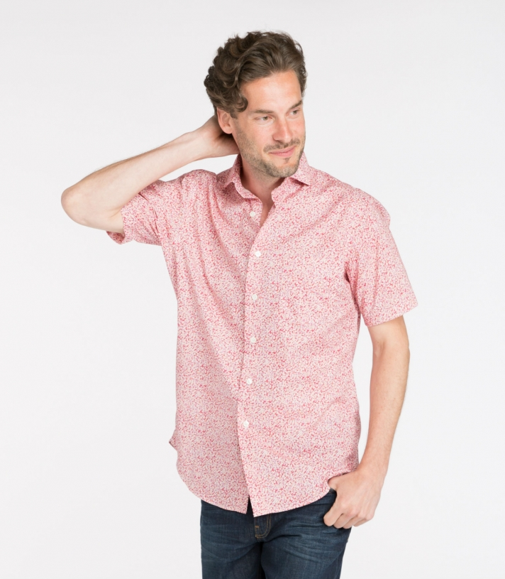 Brad Cotton Shirt SS Made in USA | Ramblers Way