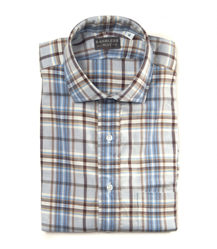Lowell Cotton Shirt Made in USA | RAMBLERS WAY