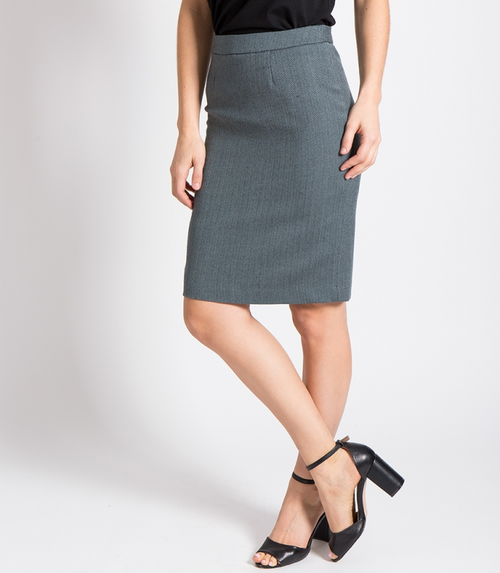 Wool Pencil Skirt Made in USA | Ramblers Way