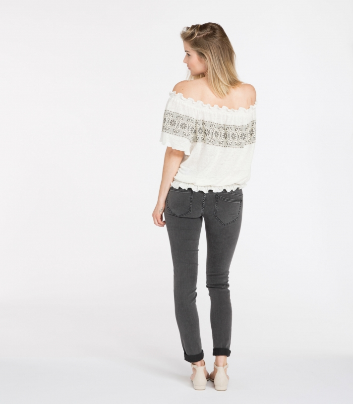 Linen Jenna Blouse Made in USA | Ramblers Way