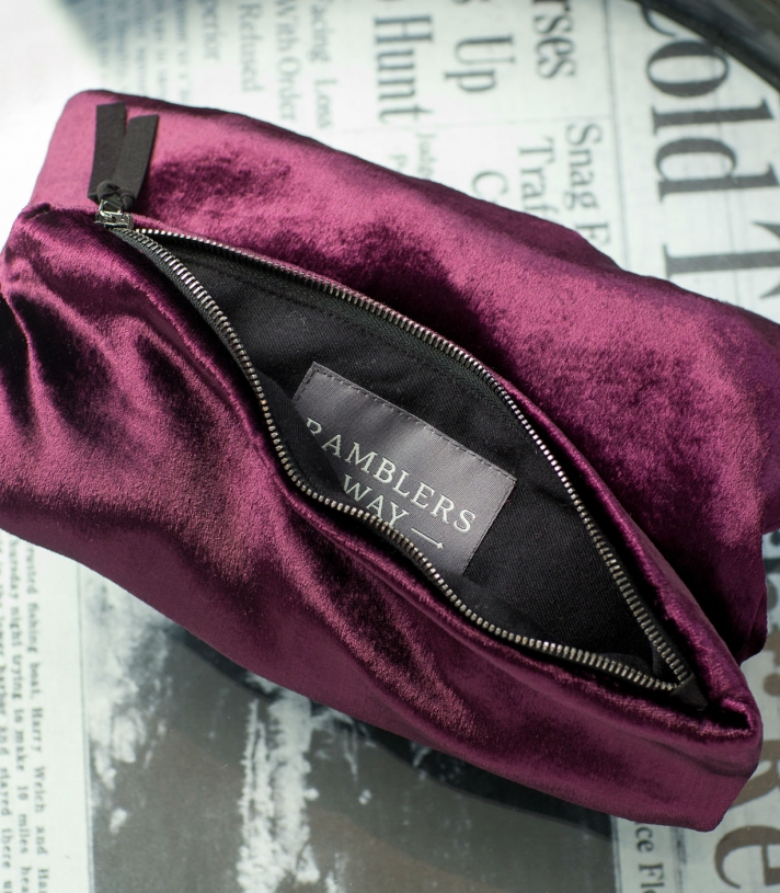 Silk Clutch Purse Made in USA | Ramblers Way