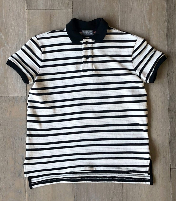 Cotton Jersey Knit Polo SS Made in USA   Ramblers Way