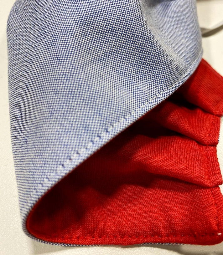 Oxford Cotton Mask Made in USA | Ramblers Way