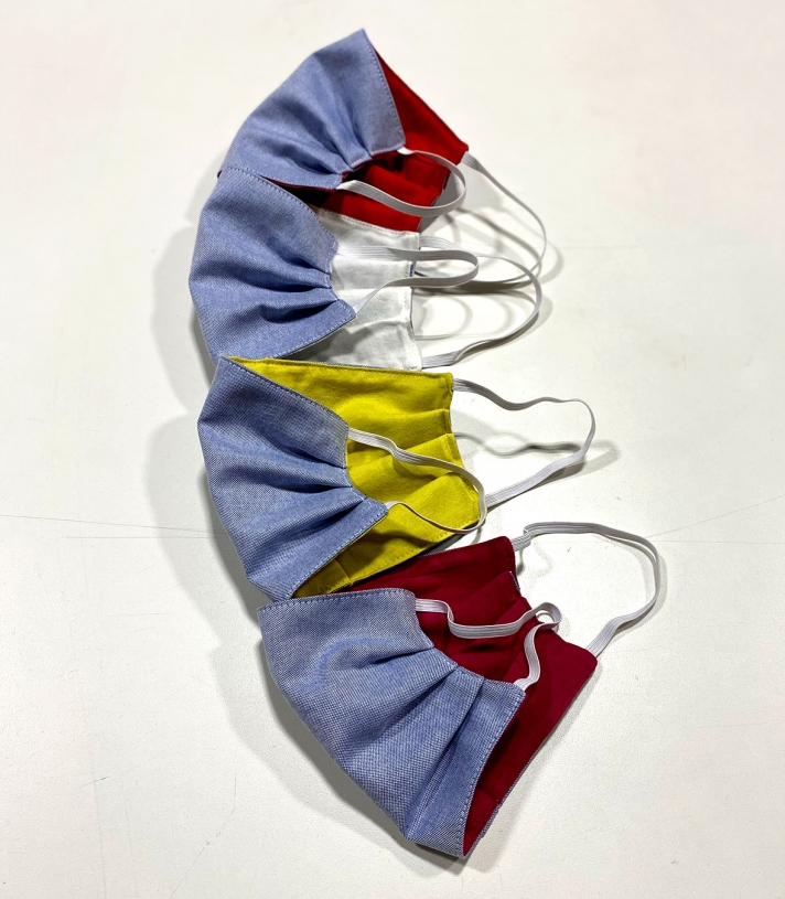 Oxford Cotton Masks - 4 Pack Made in USA | Ramblers Way