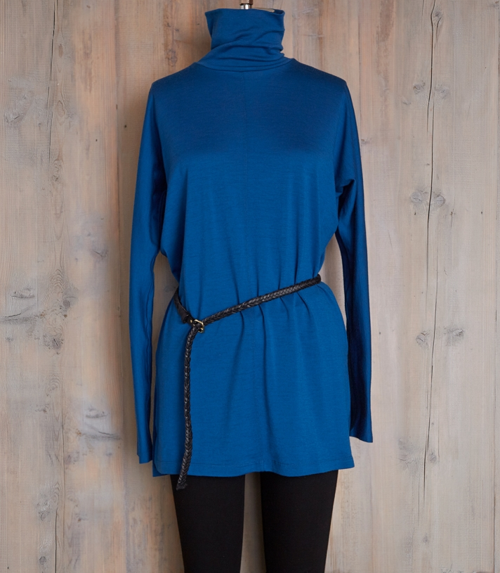 Wool Turtleneck Tunic Made in USA | Ramblers Way