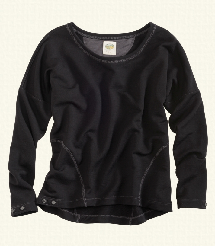 Wool French Terry Dolman Pullover - FINAL SALE Made in USA   Ramblers Way