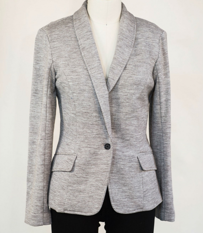 Wool French Terry Madeline Jacket Made in USA | RAMBLERS WAY