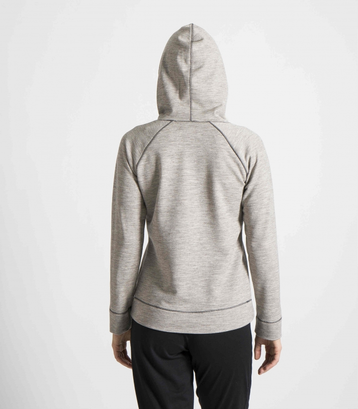 French Terry Wool Raglan Hoodie Made in USA | Ramblers Way