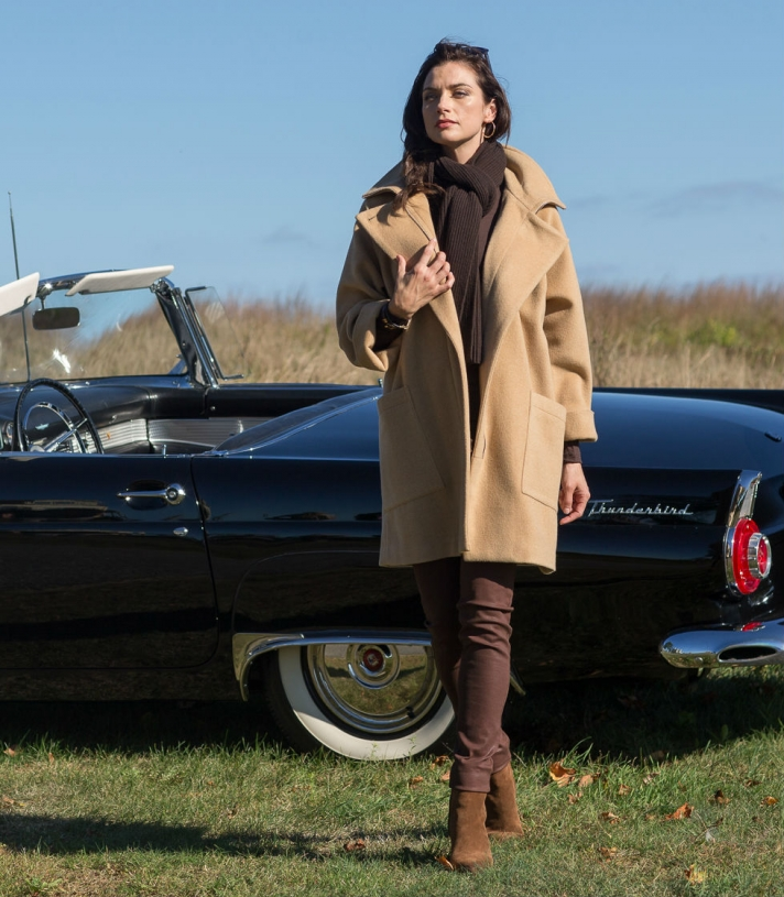 Wool Colette Jacket Made in USA | Ramblers Way