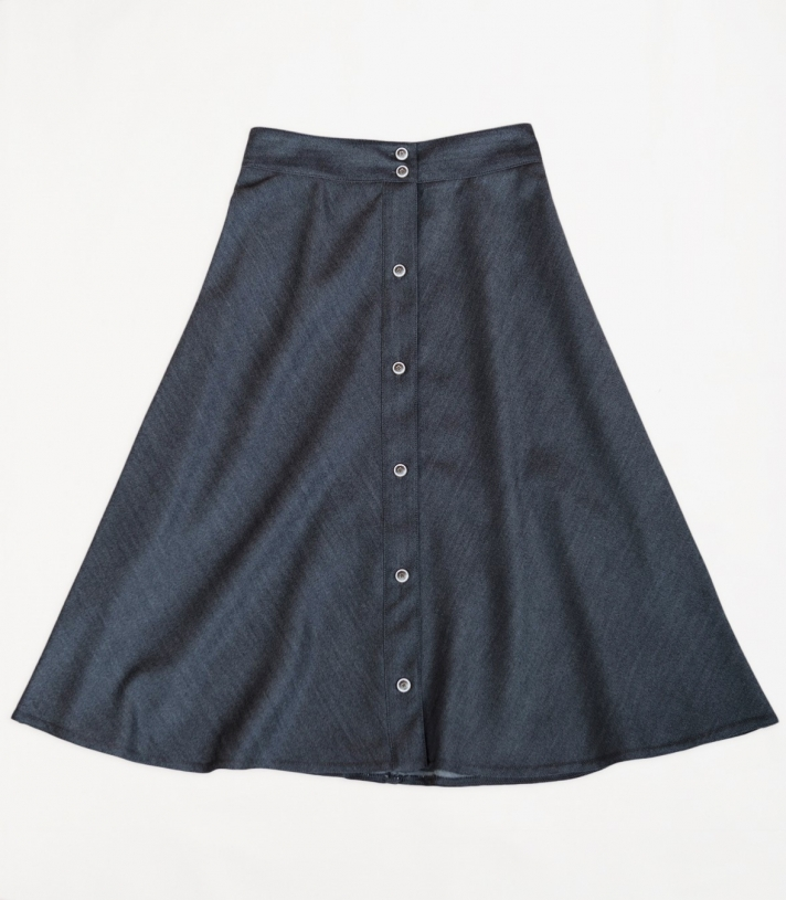 Wool Four Panel Skirt Made in USA | RAMBLERS WAY