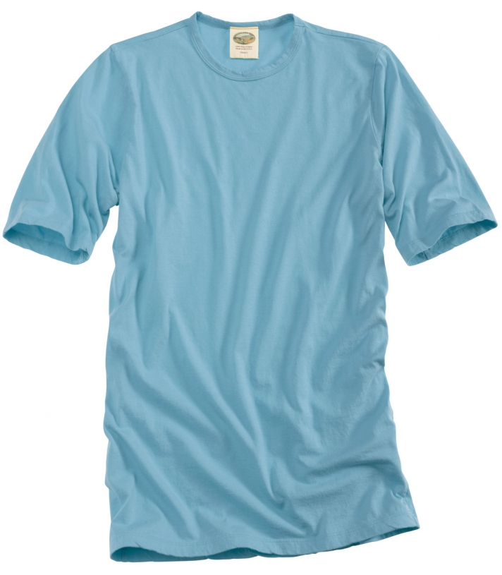 Cotton Crew Neck Tee - Short Sleeve Made in USA | Ramblers Way
