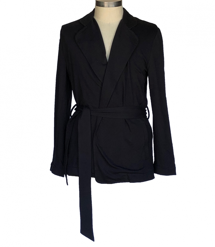 French Terry Cotton Kent Robe Made in USA | RAMBLERS WAY