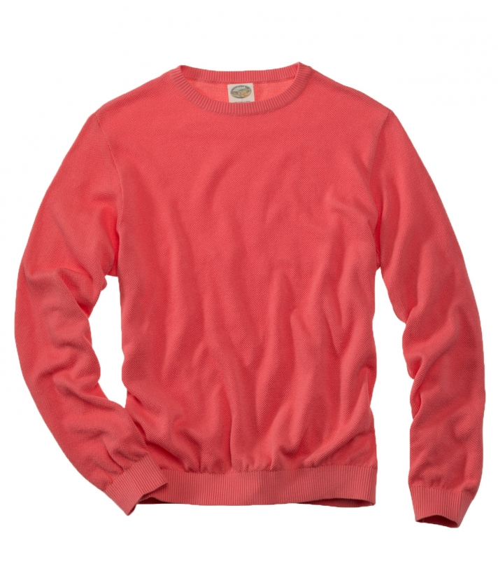 Cotton Classic Crew Sweater - Final Sale Made in USA | RAMBLERS WAY