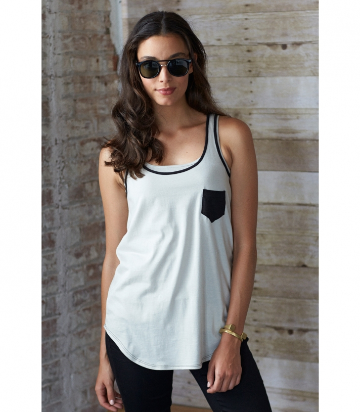 Cotton Loose Tank - FINAL SALE Made in USA | Ramblers Way